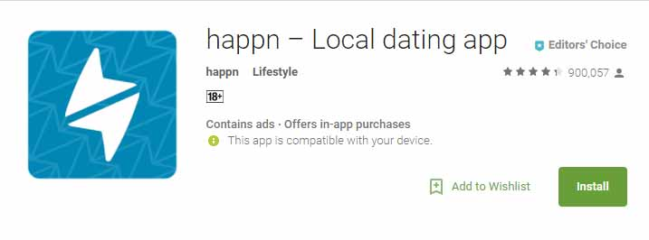 Happn app icon image for international dating site review