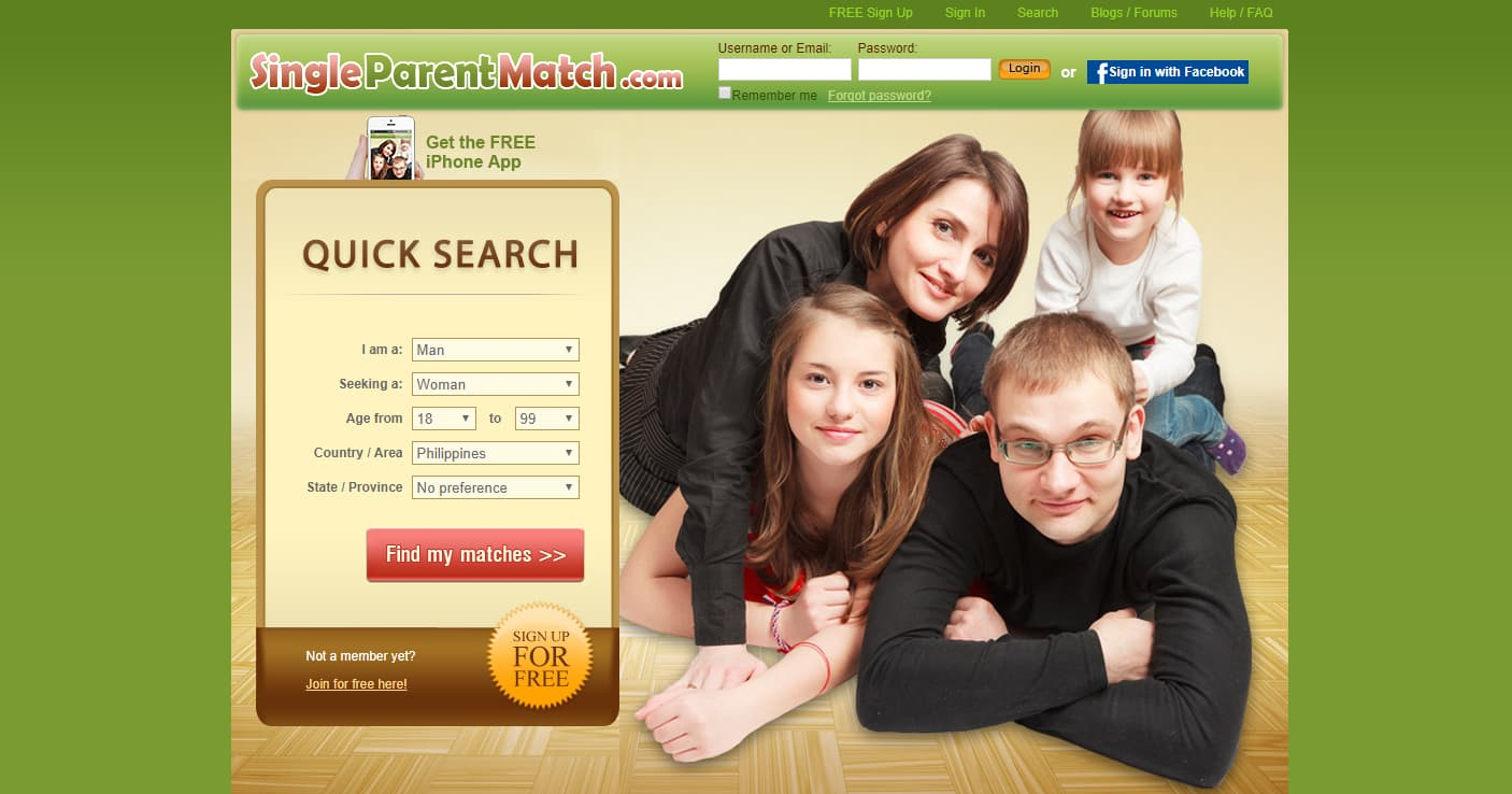 Free single parent dating